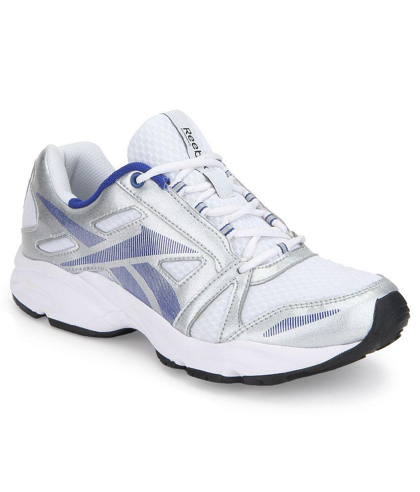 f91b26ec5b4 Reebok Dynamic Ride Lp White Sports Shoes - Buy Reebok Dynamic Ride ...