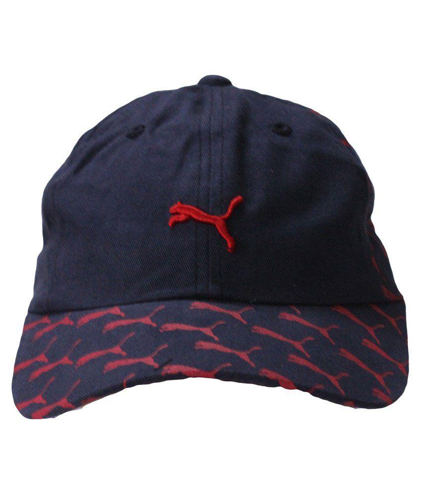 Air Fashion Blue Cotton Sports Cap