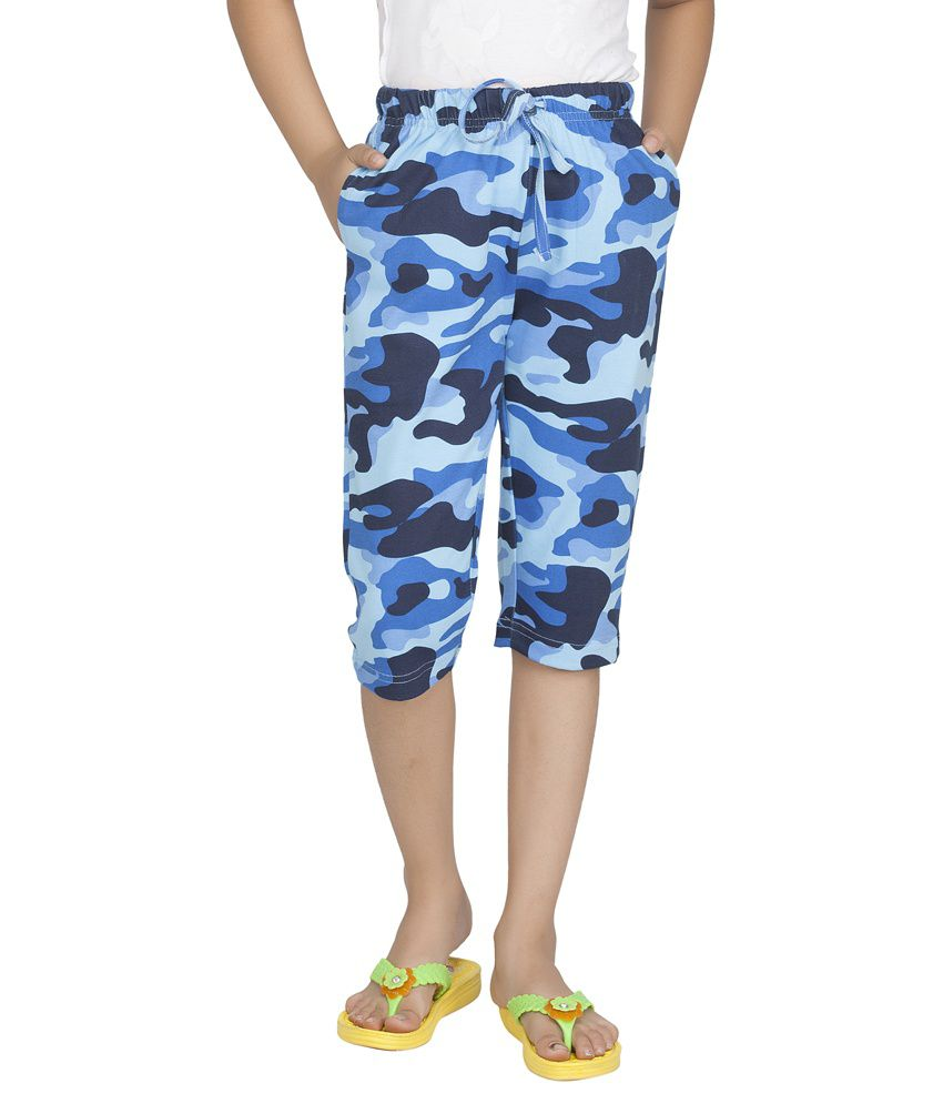 Clifton Blue Capris
