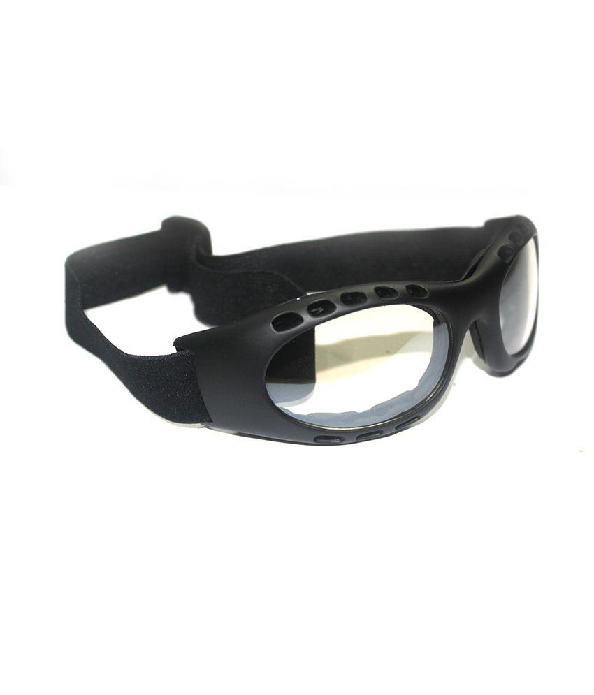 b375e30af3f8 Bikestuff Riding or Sports Goggles - Black   Clear (B-EG15)  Buy ...