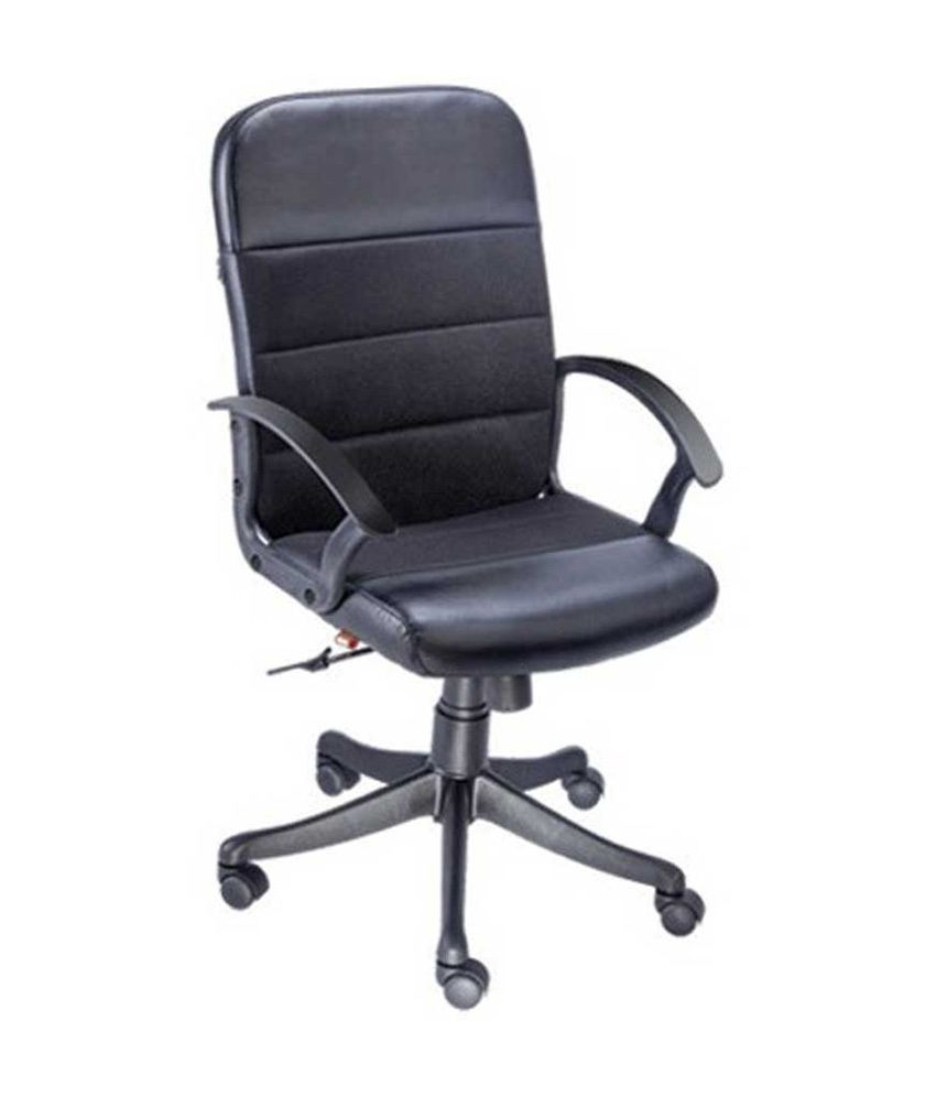 Mavi natural finish office chairs in black buy
