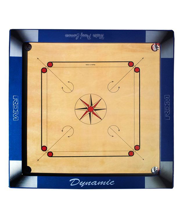 RDM Metallic Carrom Board