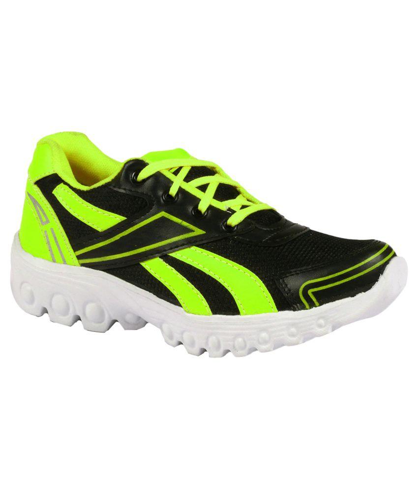 Shooz Green Sports Shoes