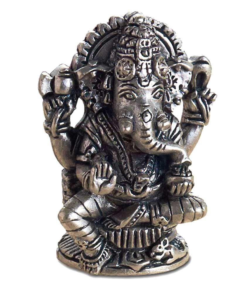 Treta Silver Lord Ganesha Idol