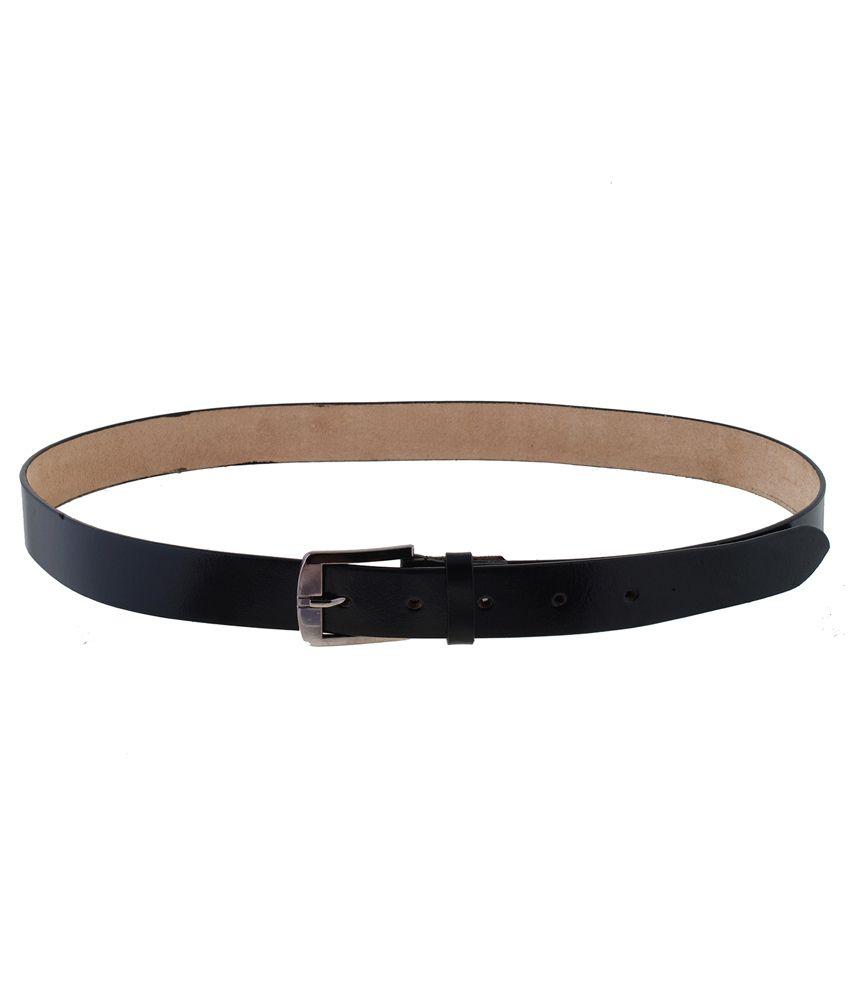 Mall4all Black Stylish Belt for Men