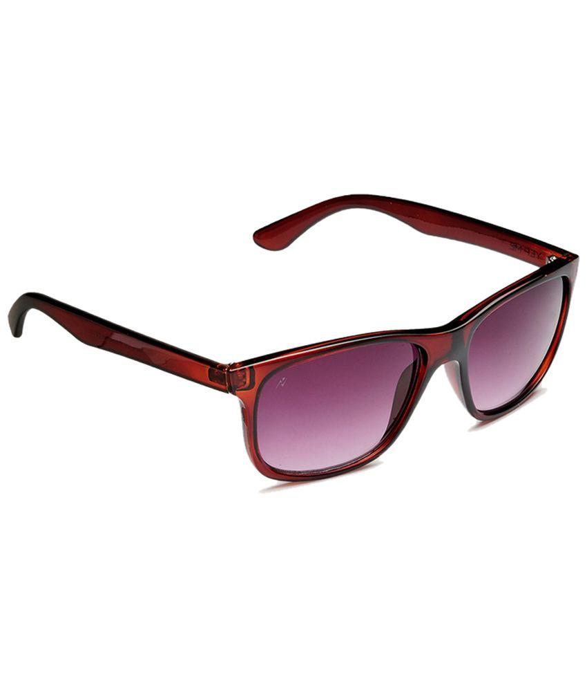 Yepme Maroon & Purple Wayfarer Sunglasses for Men