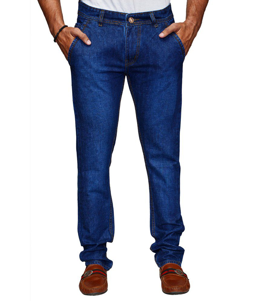 Denim Cafe Blue Slim Fit Jeans