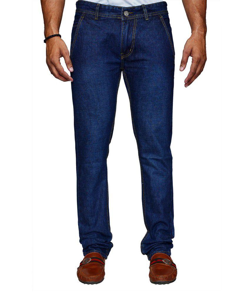 Denim Cafe Blue Slim Fit Jeans
