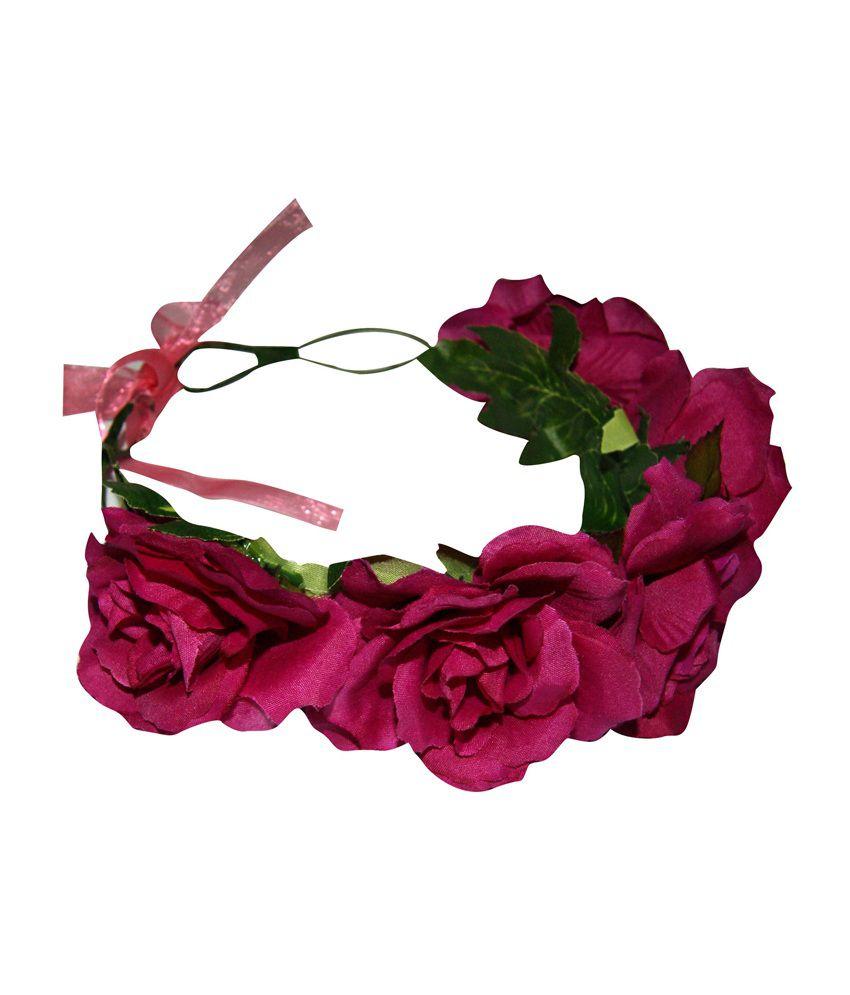 flower tiara online