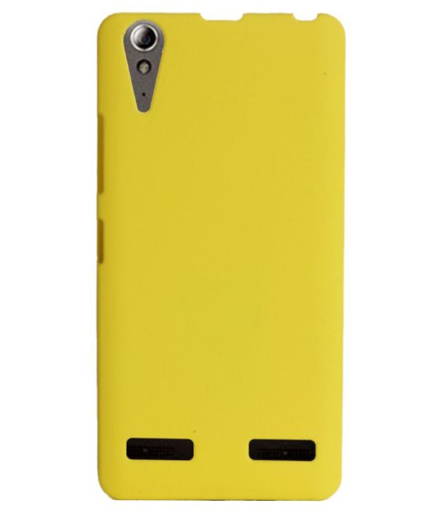 half off ccaad ece5f Wow Imagine Back Cover For Lenovo A6000 And A6000 Plus - Yellow