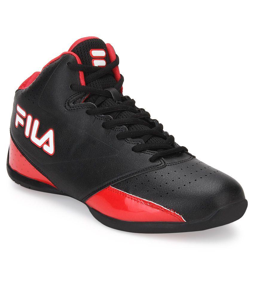 Fila Reversal Black Sport Shoes - Buy Fila Reversal Black ...