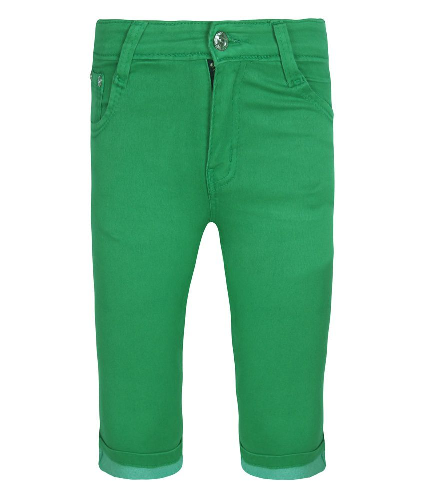 Jazzup Green Capris