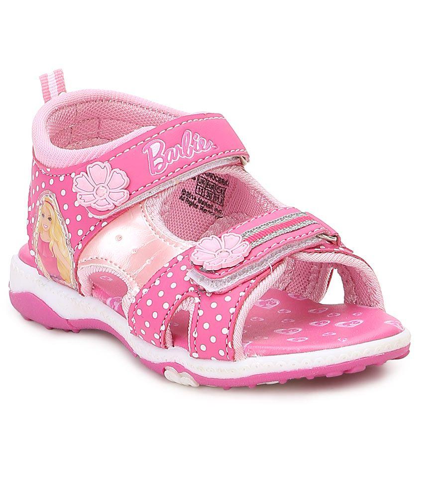 3559befebf53e Barbie pink floater sandals for kids price in india buy barbie pink floater  sandals for kids