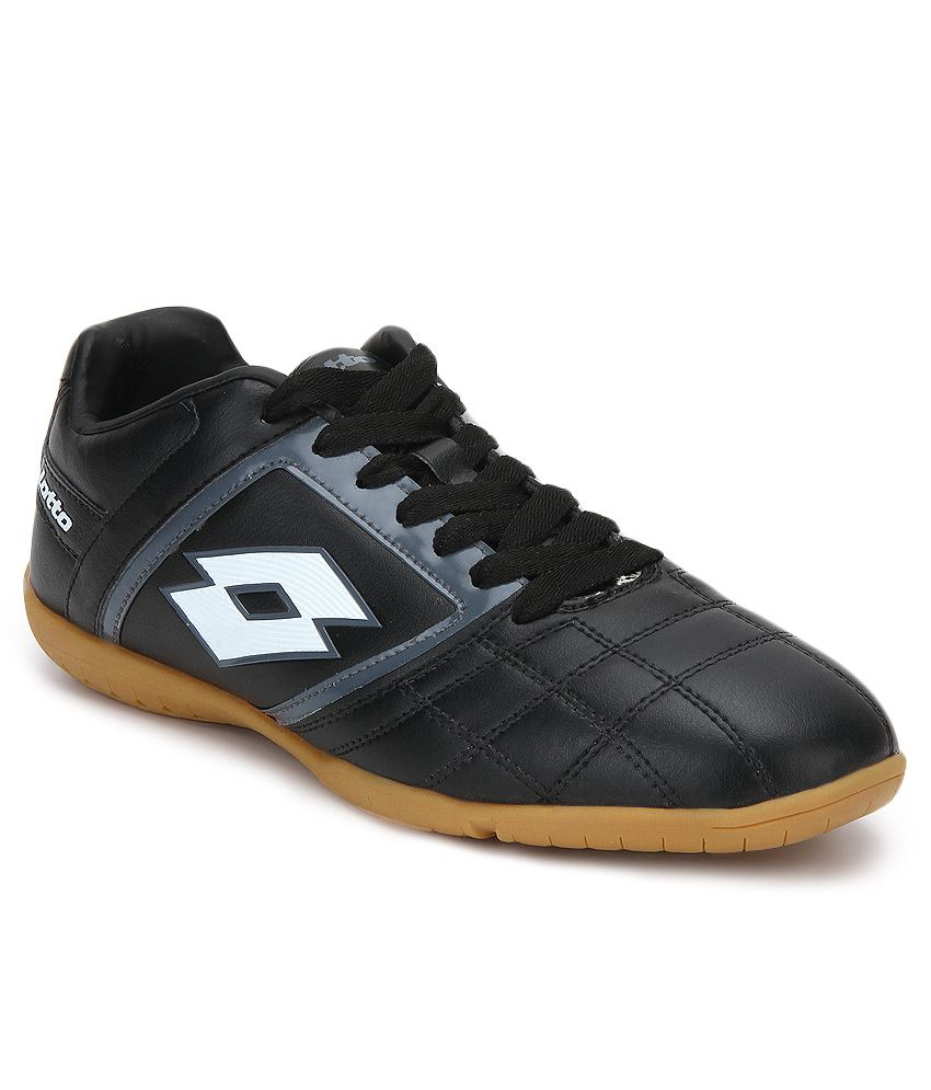 Lotto Spider Id Black Sports Shoes