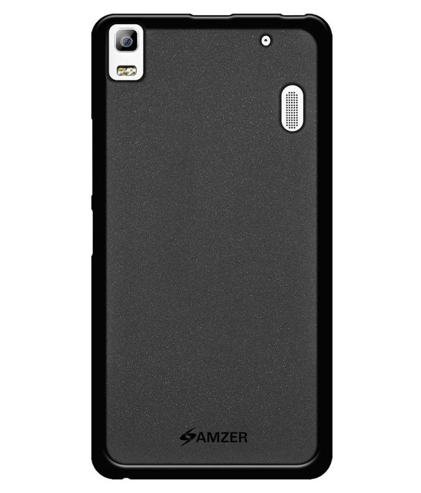 Amzer Back Cover For Lenovo K3 Note - Black
