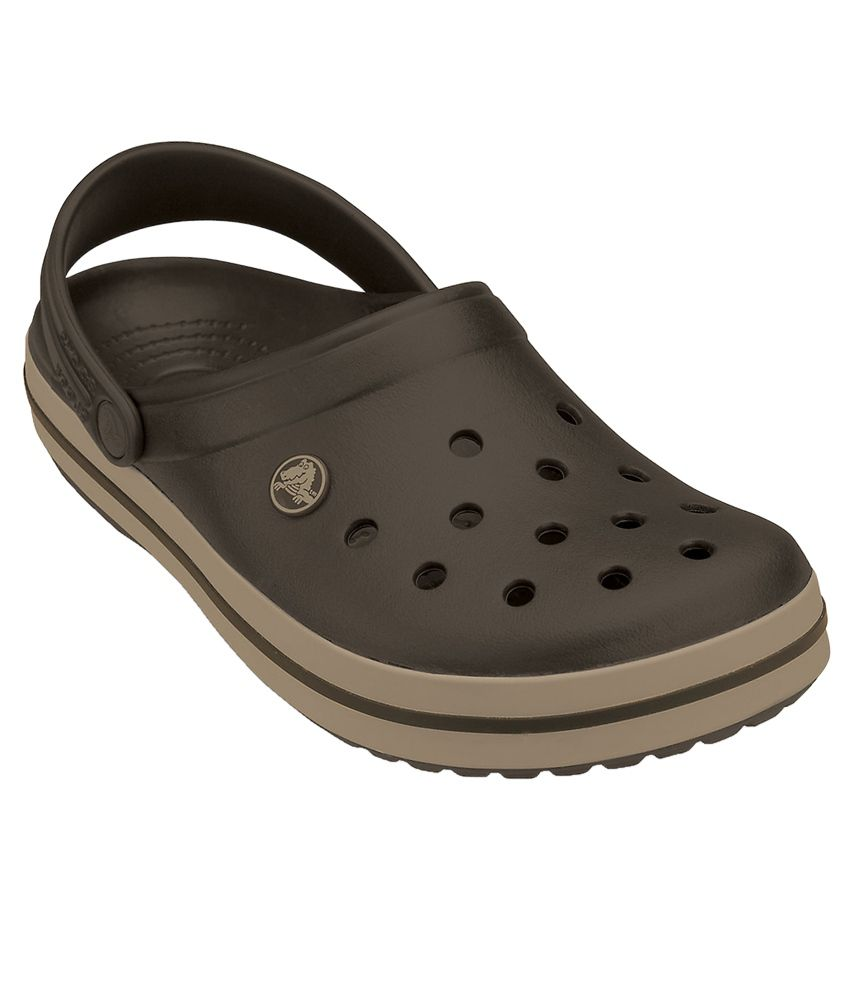1b0d00d5e Crocs Relaxed Fit Crocband Brown Clog - Buy Crocs Relaxed Fit Crocband  Brown Clog Online at Best Prices in India on Snapdeal