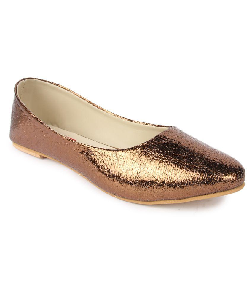 Finesse Brown Ballerinas