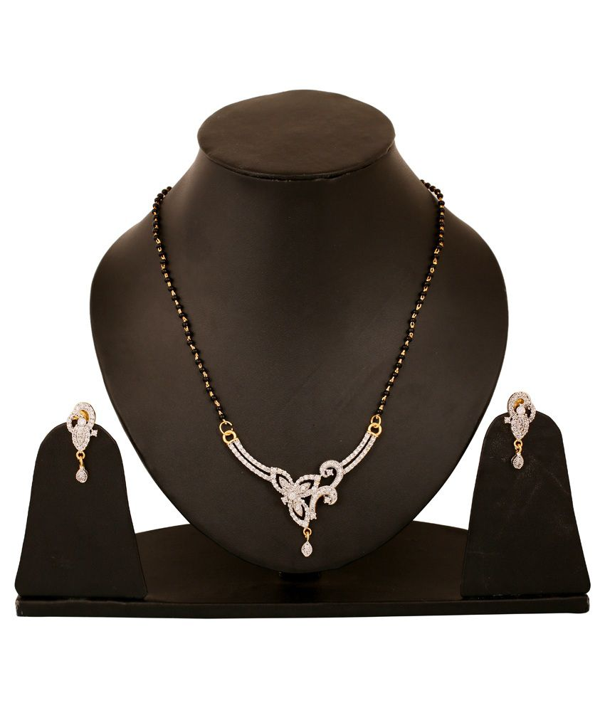 Touchstone Black Brass Mangalsuta Set