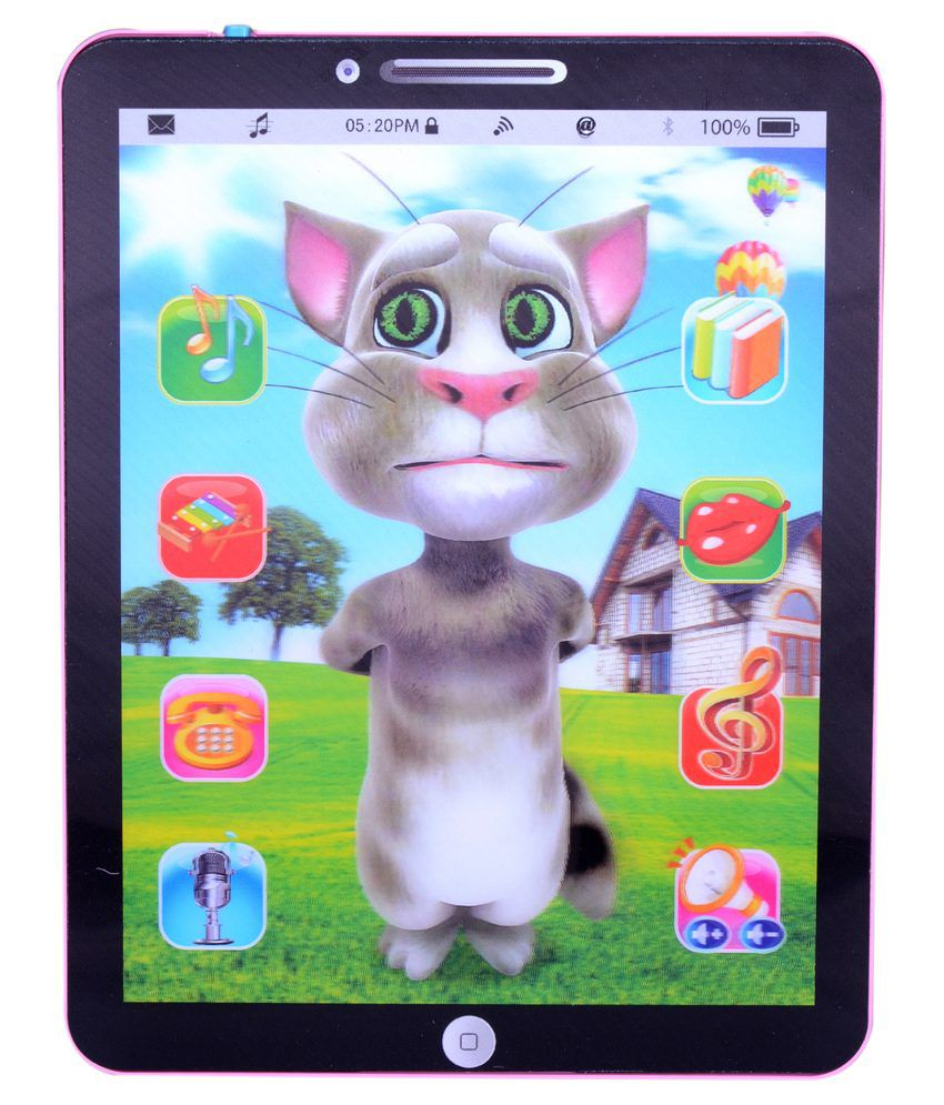 Cool Toys Multicolour Plastic Talking Tom Ipad Buy Cool Toys