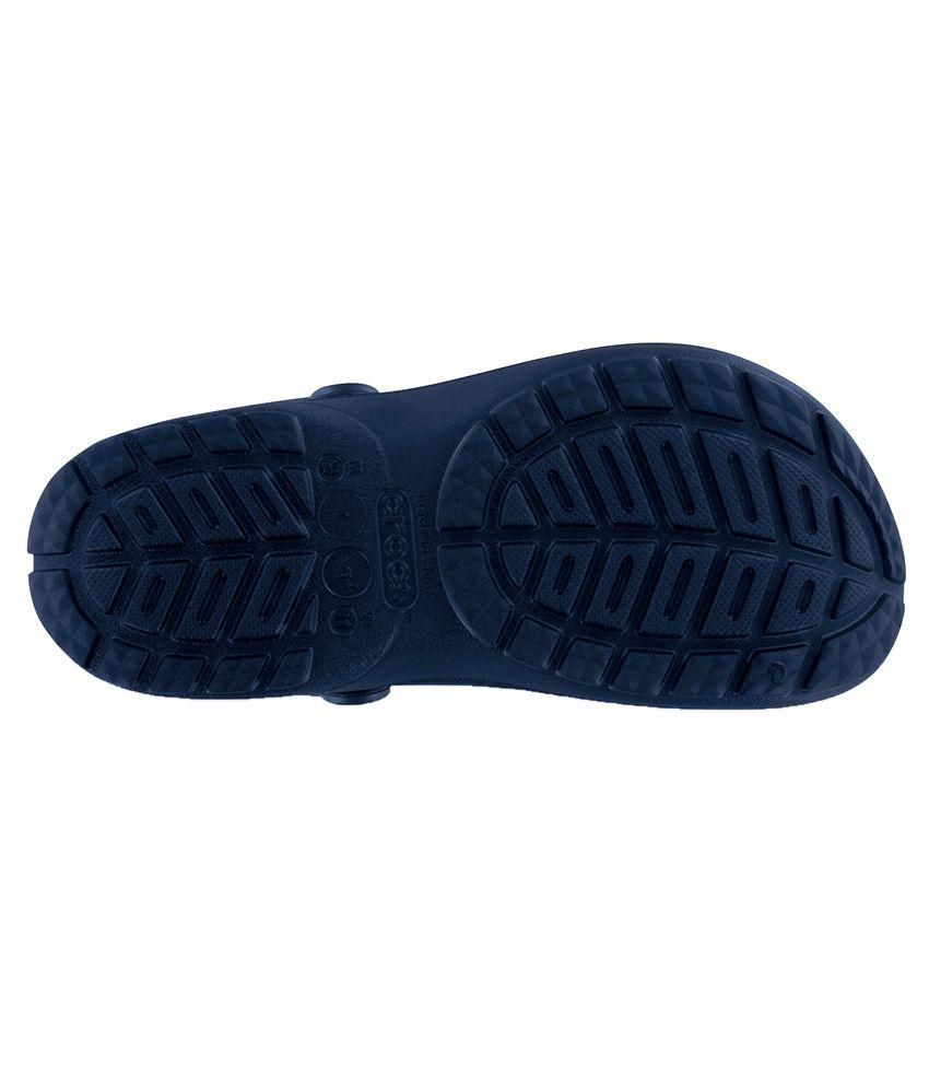 778c13dad2 Crocs Roomy Fit Ultimate Cloud Unisex Navy Clog - Buy Crocs Roomy ...