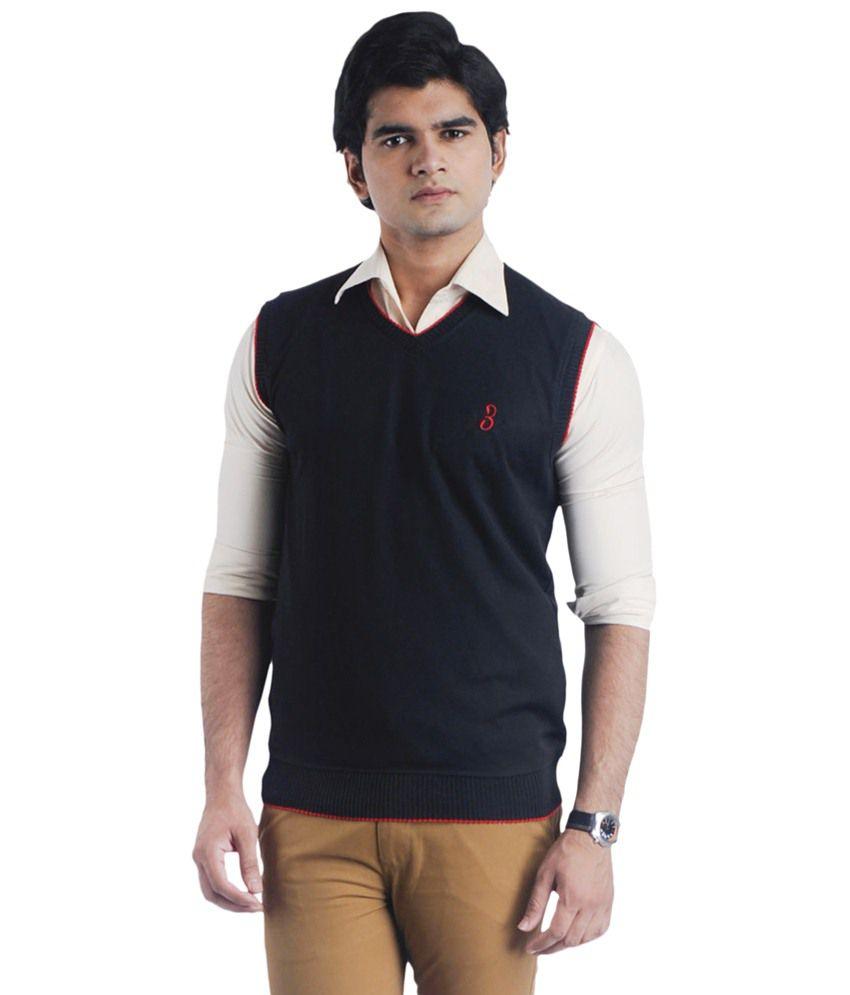 Eprilla Blue Sleeveless Sweater