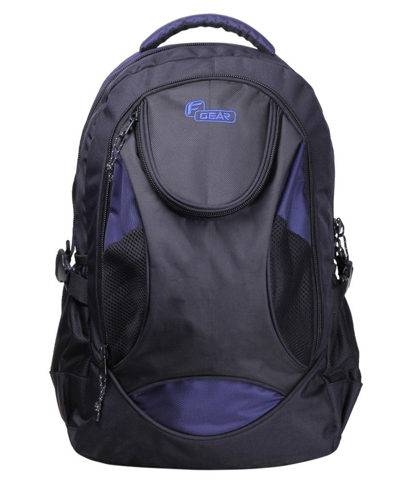 F Gear Sniper Lite V2 Black Navy Blue Backpack