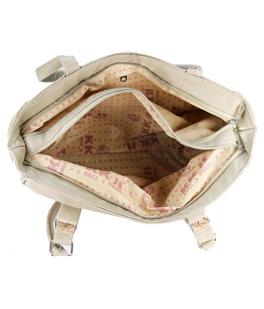 Klazo Shoulder Bag-beige