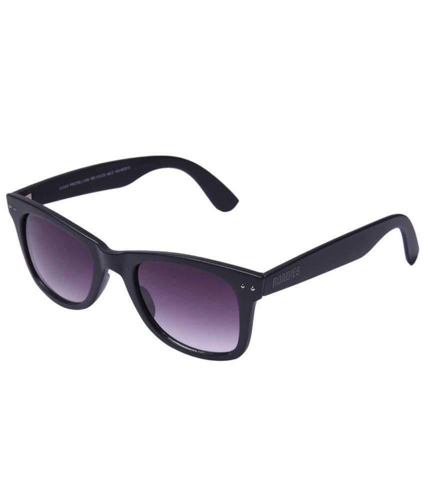 Mtv Roadies Grey Small Unisex Wayfarer Sunglasses