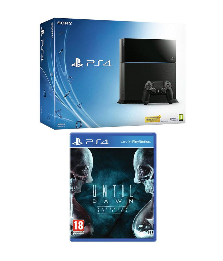 Sony 500 GB PlayStation 4 with Until Dawn Bundle