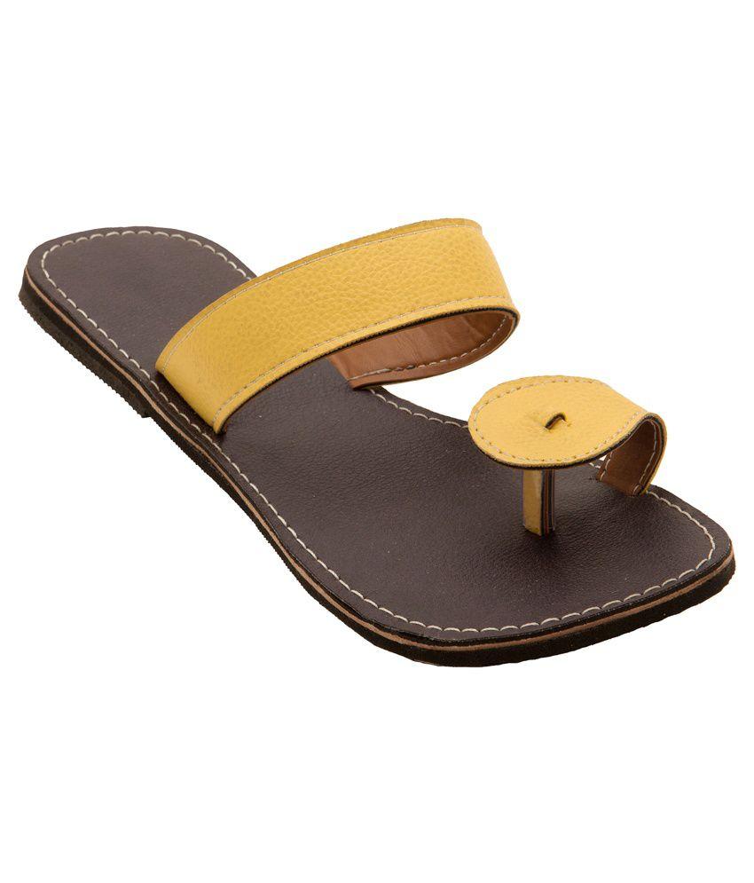 Footwear Brown Slip-Ons