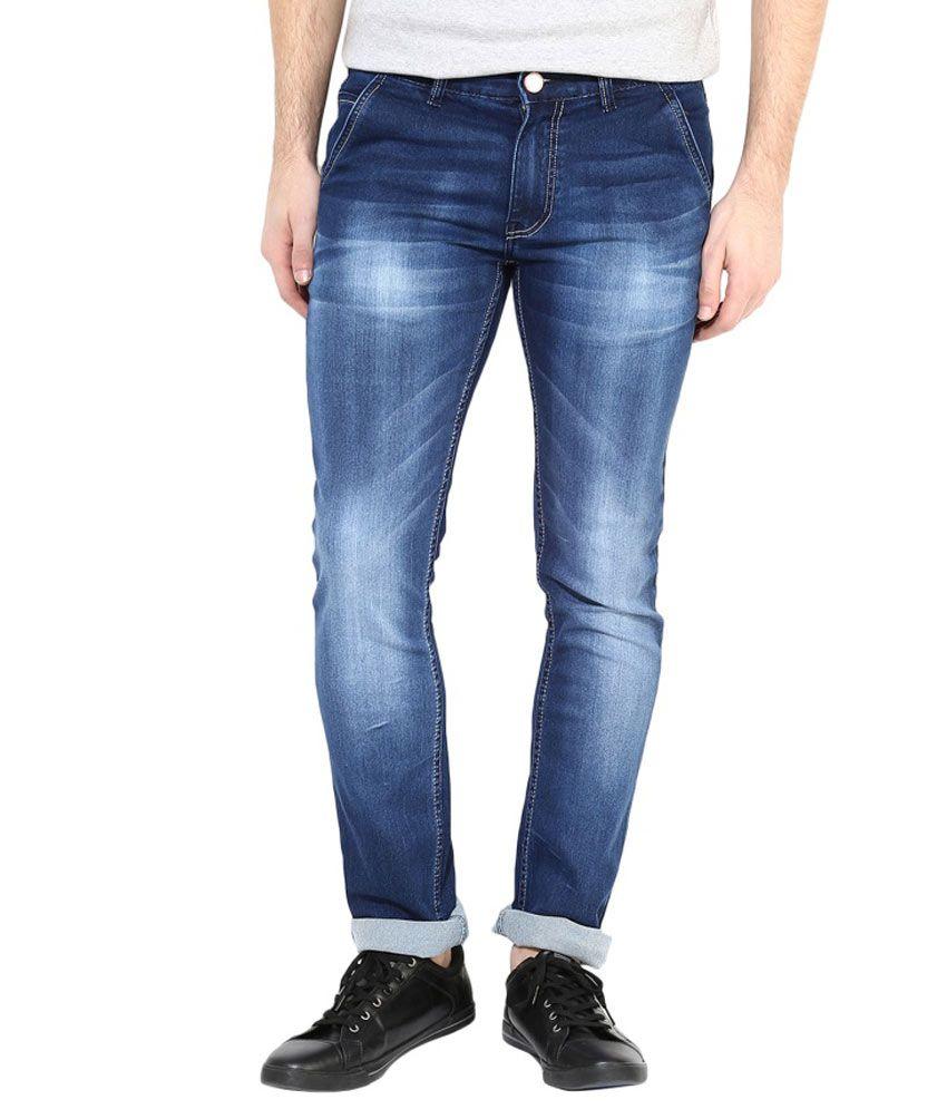 3 Concept Blue Slim Fit Jeans