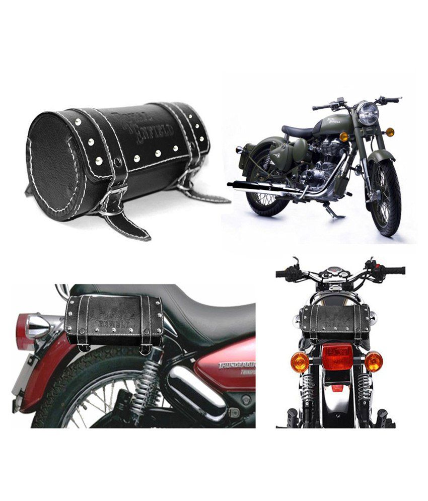 Capeshoppers Royal Enfield Duffle Bag For Royal Enfield Classic