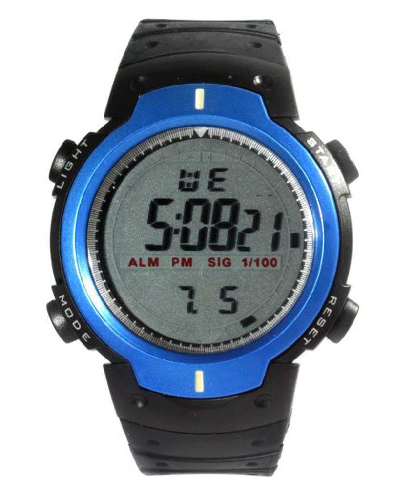 Gt Gala Time Gray Round Digital Watch