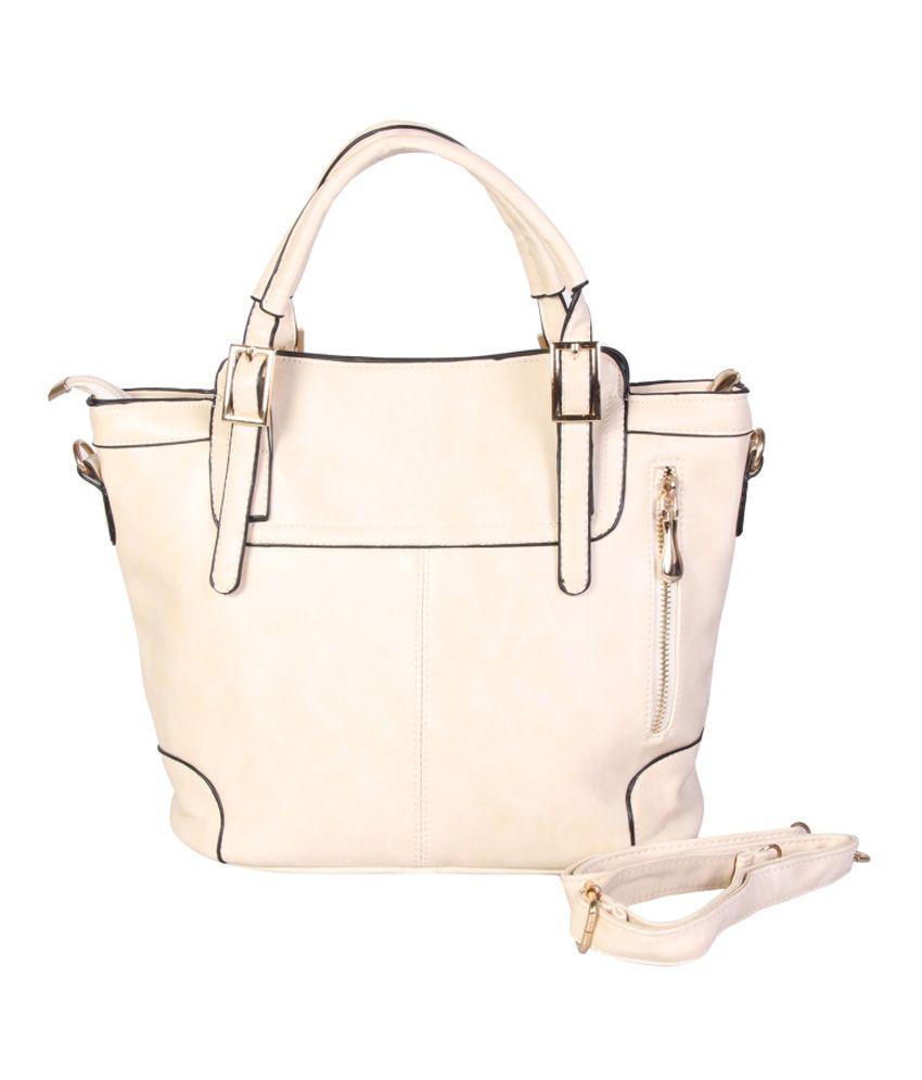 Kreo White Shoulder Bag