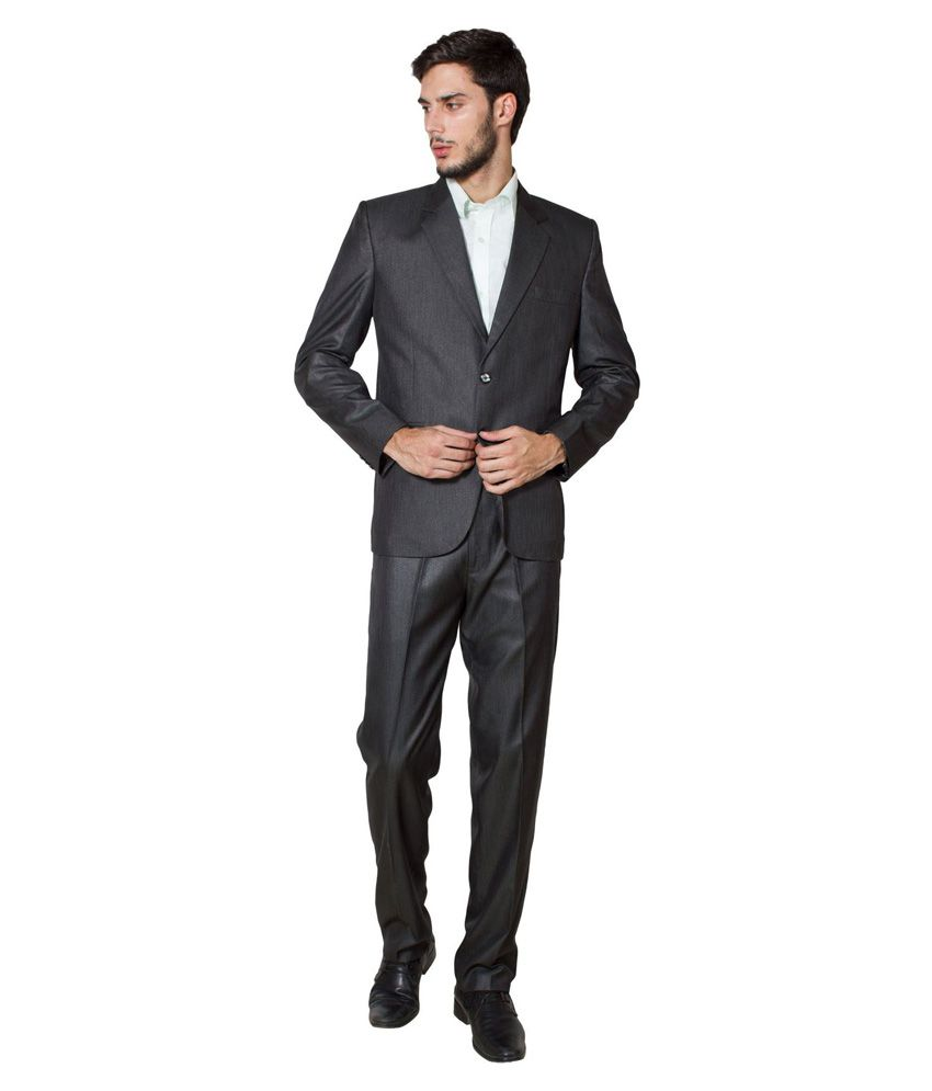 Wintage Black Formal Suit