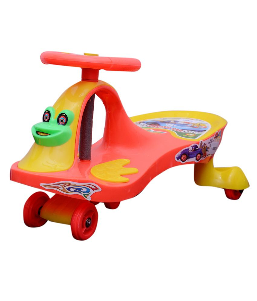 abasr multicolour baby swing car ride on car for kids