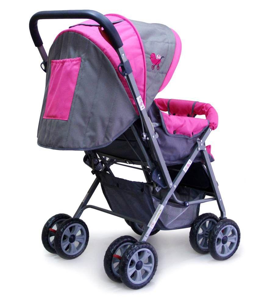 Ador Comfort Baby stroller 33 Pink - Buy Ador Comfort Baby ...