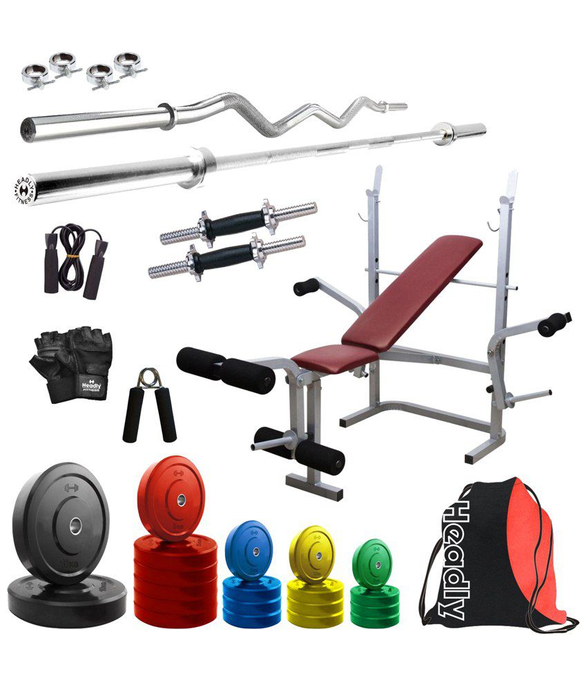 Headly premium kg coloured home gym quot dumbbells