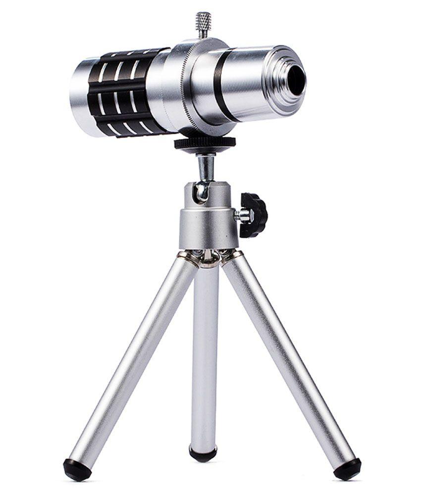 Chkokko Universal 12X Zoom Clip Lens For All Mobile Phones