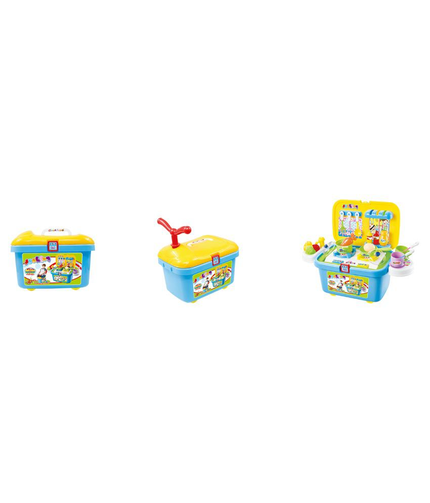 Happy Kids Real Action Role Play Kitchen Set - Multicolor - Buy ...