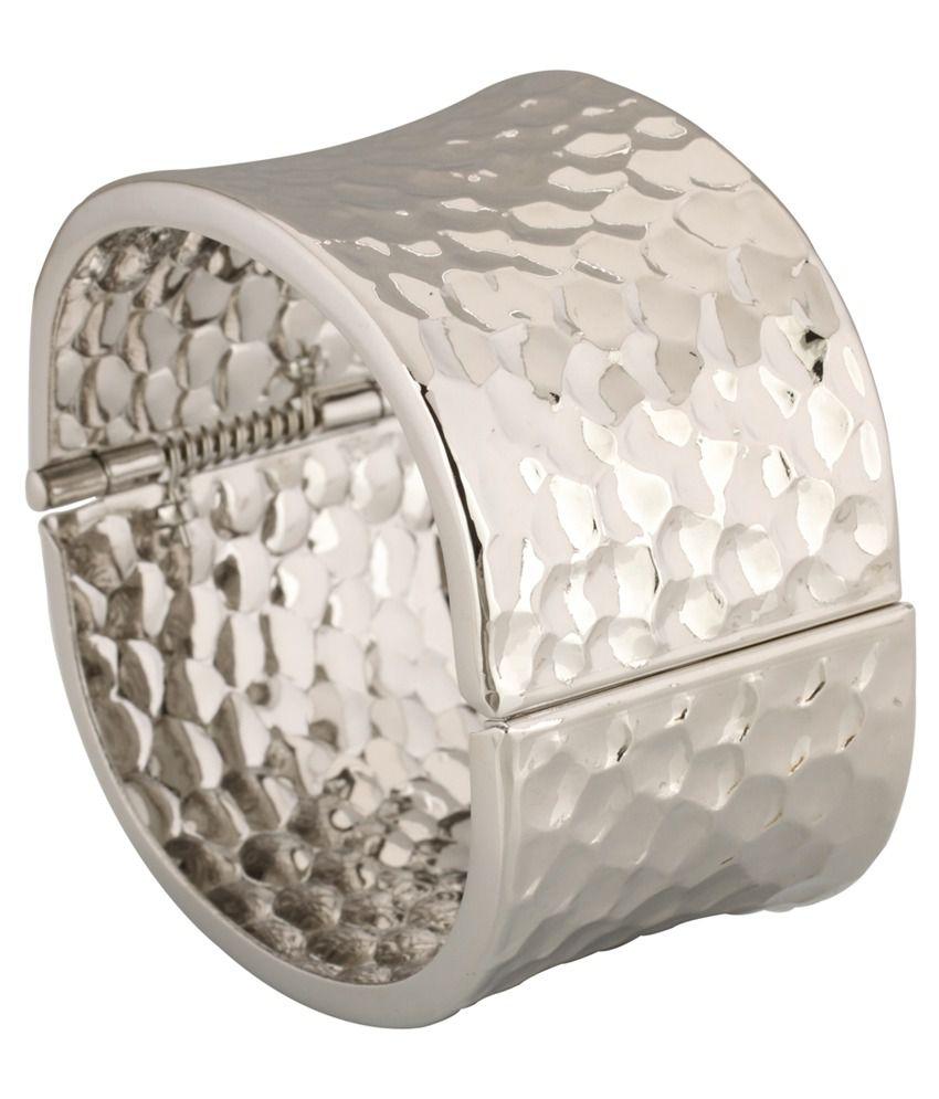 Spargz Silver Casual Hit Bracelet
