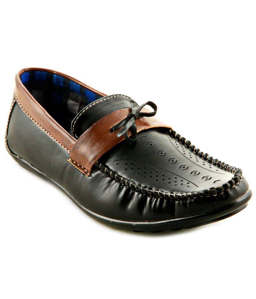 5715d4137edcdc Splendor Black Loafers - Buy Splendor Black Loafers Online at Best Prices  in India on Snapdeal