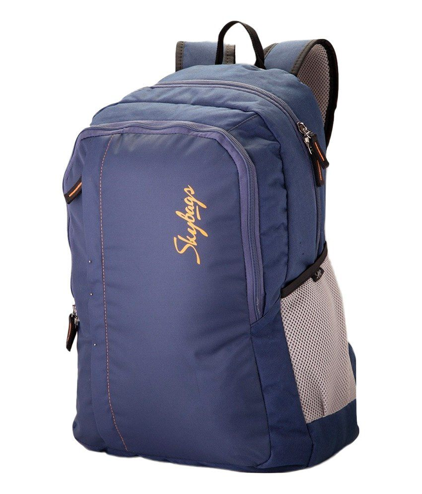 Skybags blue Backpack - Buy Skybags blue Backpack Online at Low ...
