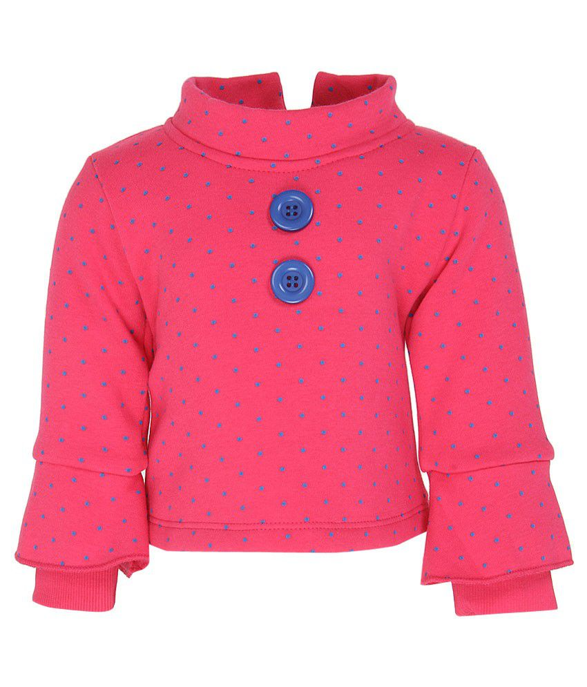 Little Kangaroos Pink Sweat Top