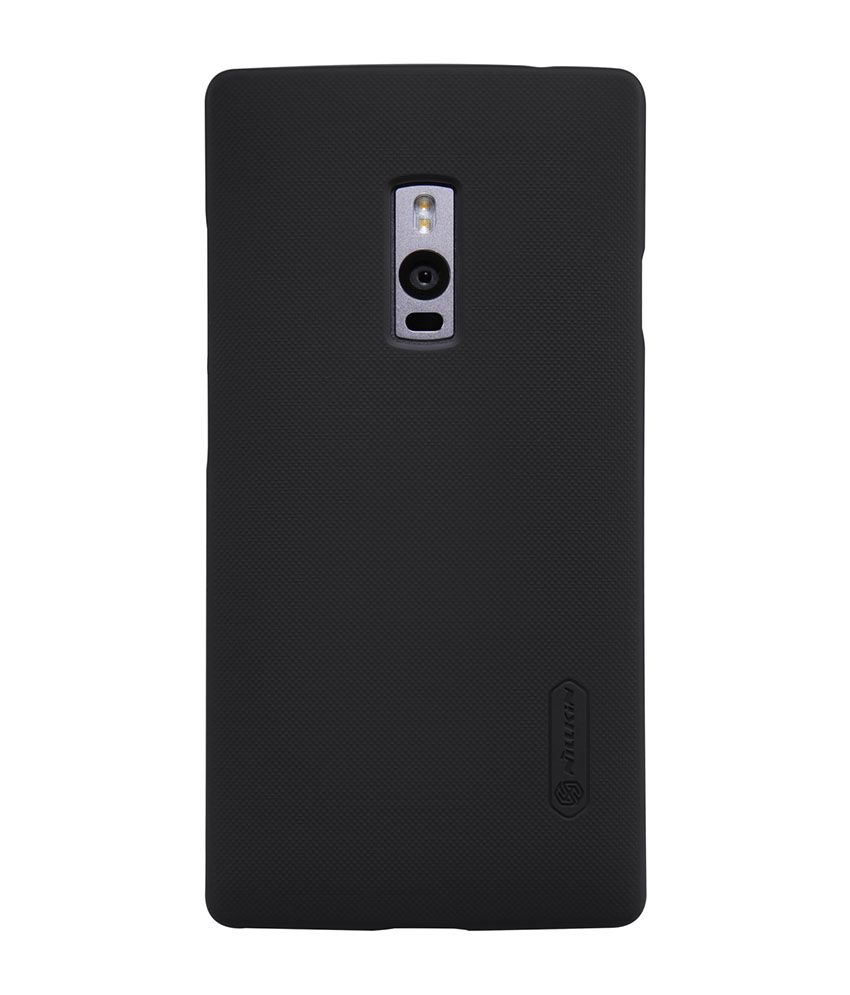 new arrival 72045 46aa9 Nillkin Hard Shell Back Cover Case For OnePlus Two - Black