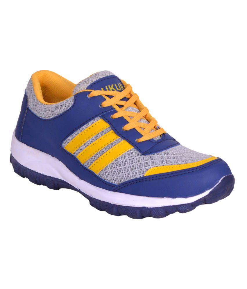 Sukun Blue Sports Shoes