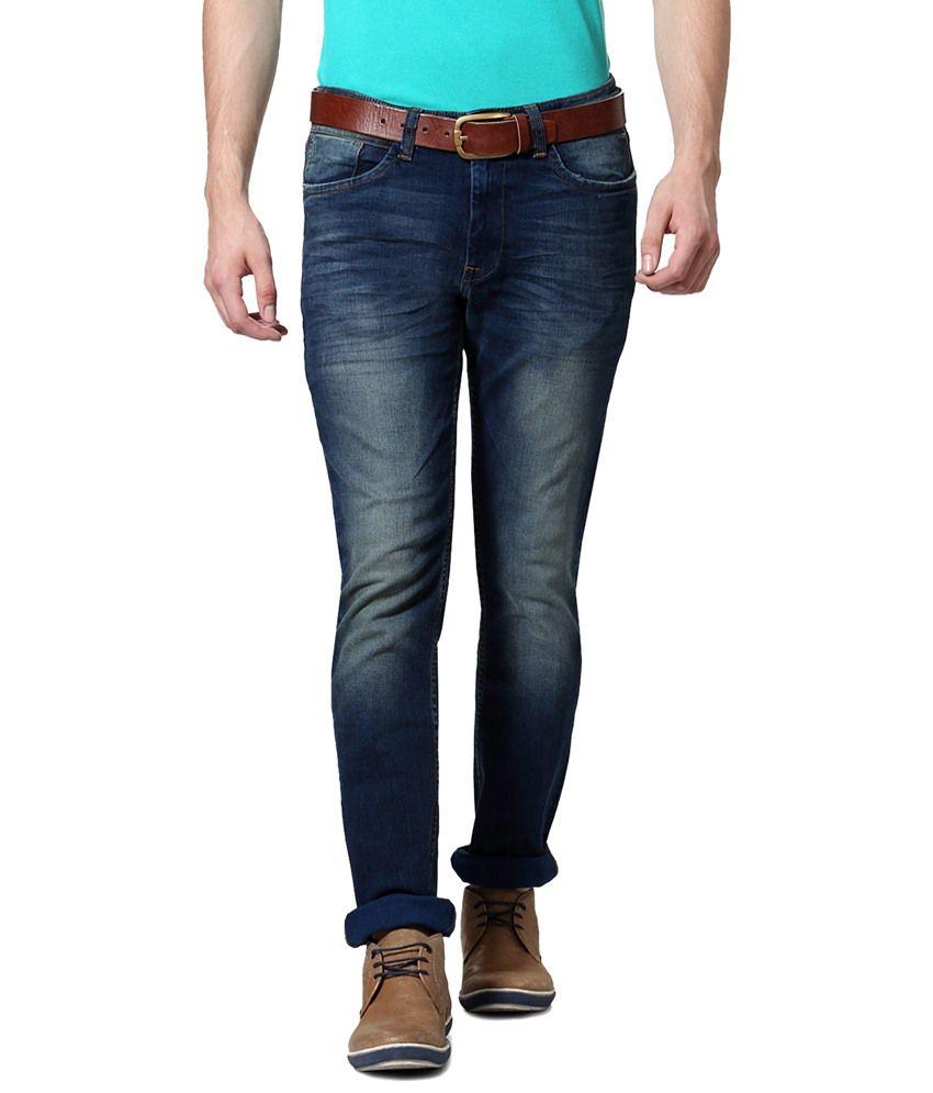 Van Heusen Blue Casual Jeans