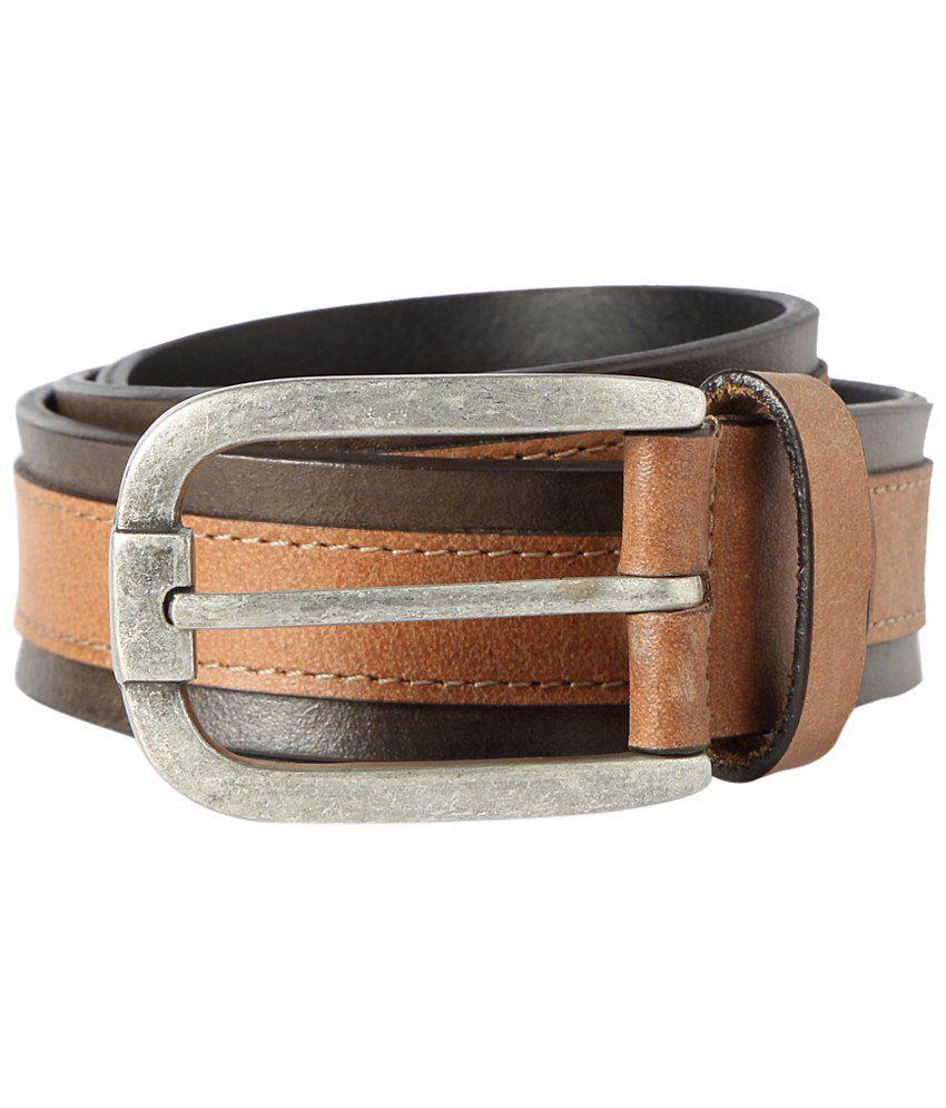 Van Heusen Brown Casual Belt