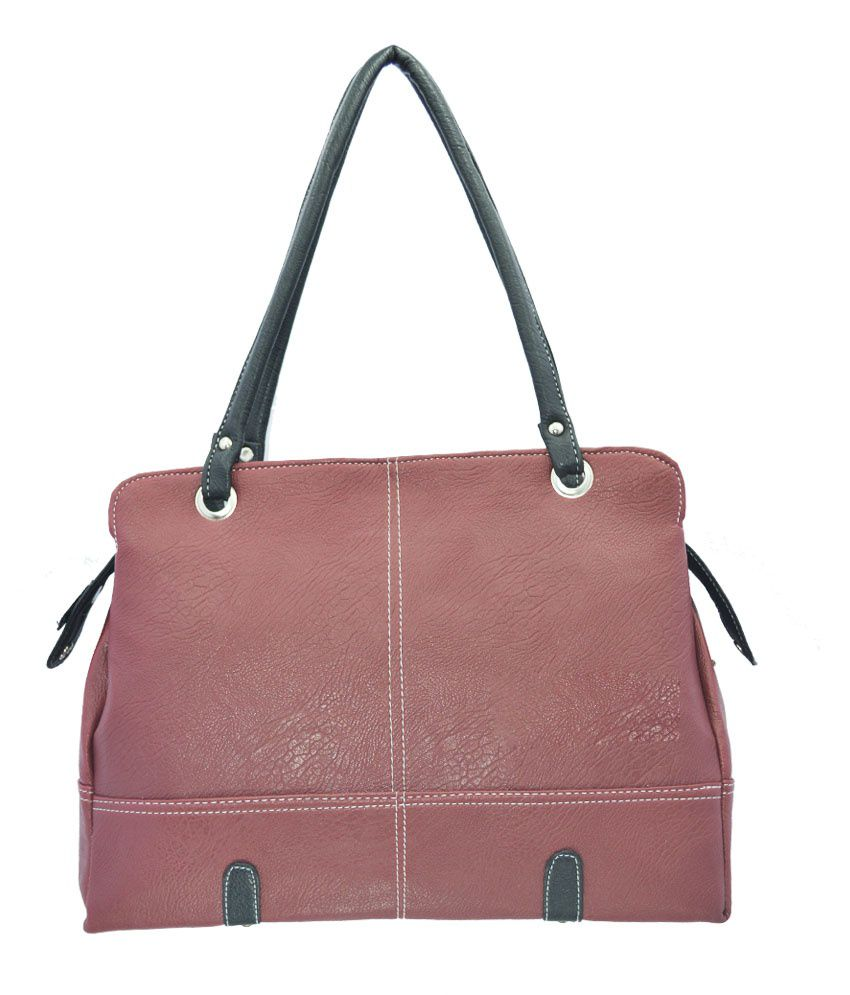 Lady Queen Maroon Shoulder Bag
