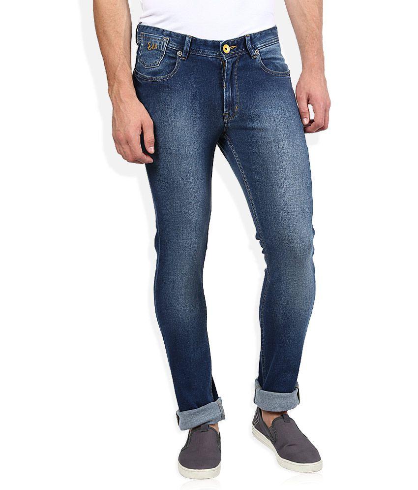 Numero Uno Blue Slim Fit Jeans